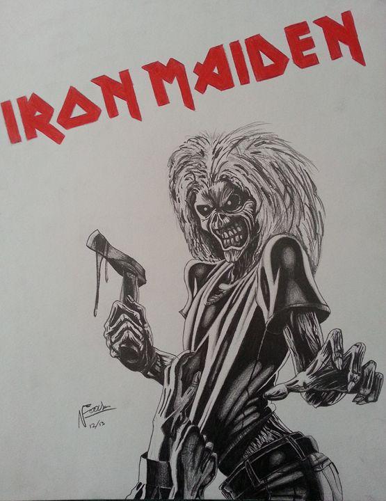 Iron Maidens Eddie - Nick Fuciarelli