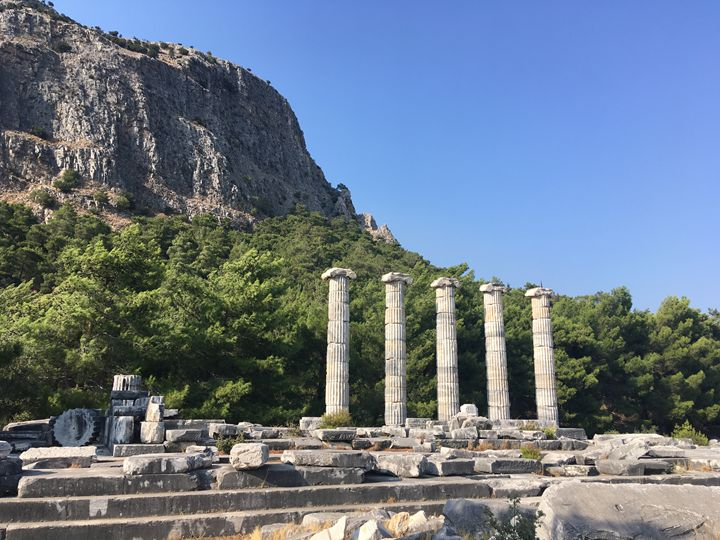 The Temple of Athena Polias, Priene - Rif Maria photography