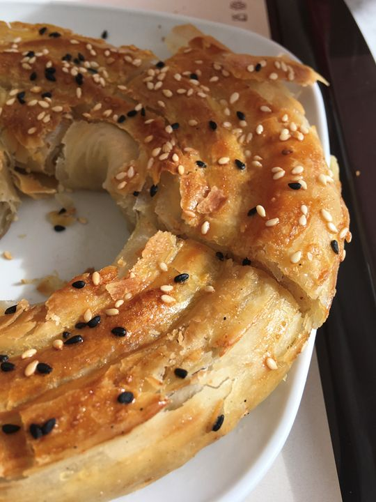 Turkish pie borek - Rif Maria photography
