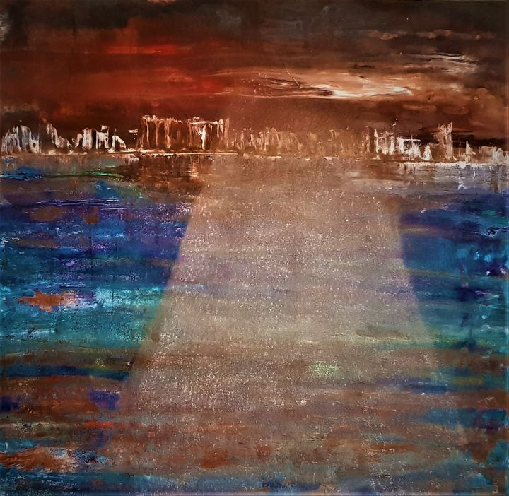 City I left behind - Cecilia Ana Bell