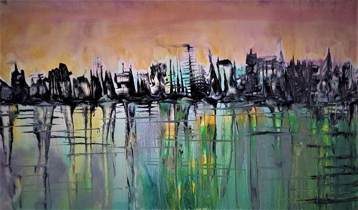 Falling city - Cecilia Ana Bell