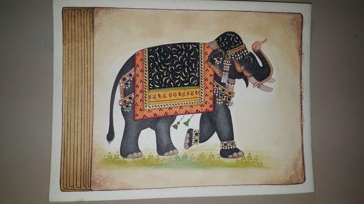 Decorative elephant - Naman art