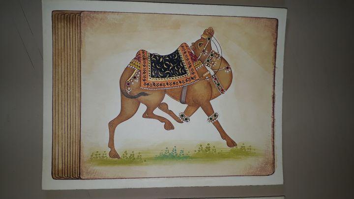 Decorative camel - Naman art