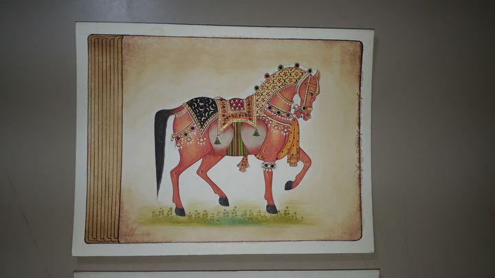 Decorative horse - Naman art