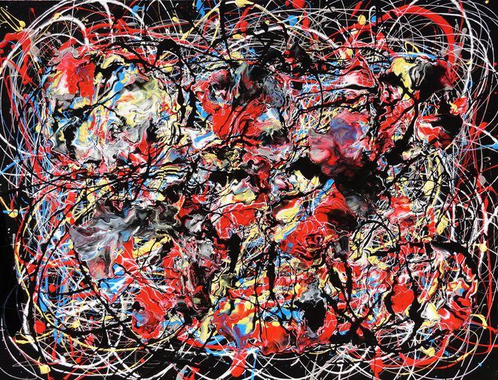 Frenzy - Original Abstract Art