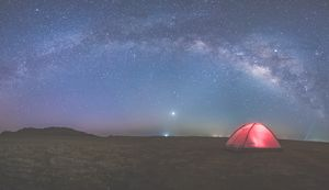 Under million stars