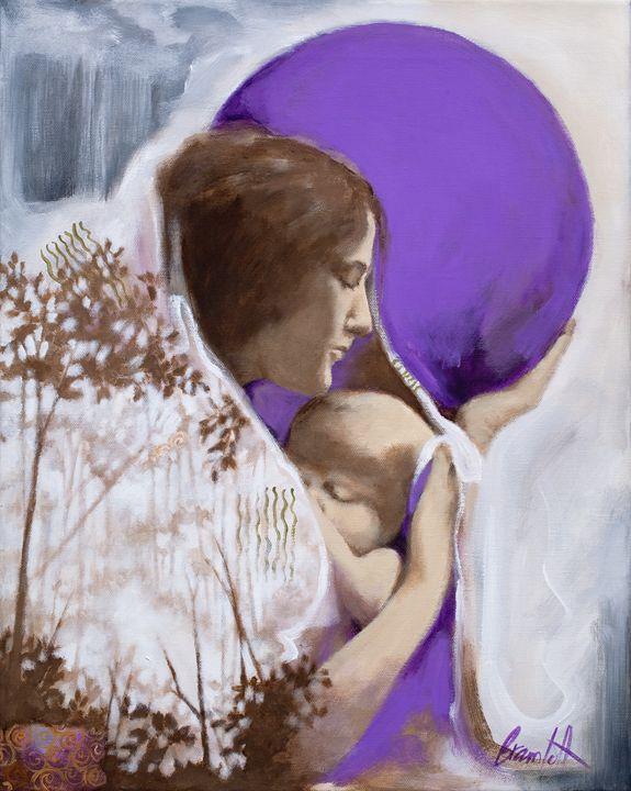 The Rain Baby - Michele Bramlett ART