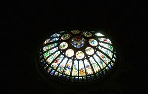 Stained Glass Celling