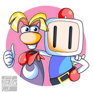 Rayman and Bomberman