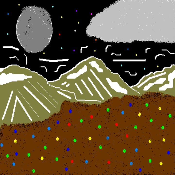 Dark Mountains - Cheyene M Lopez