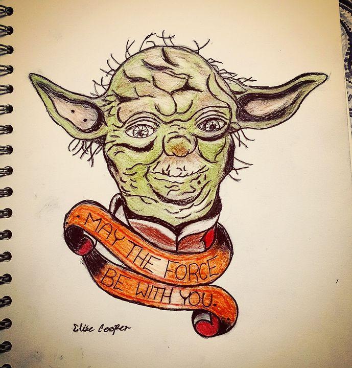Yoda the Wise - Elise_Co.
