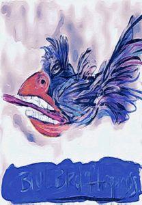Bukowski's Bluebird - ArtSoldier OutHouse
