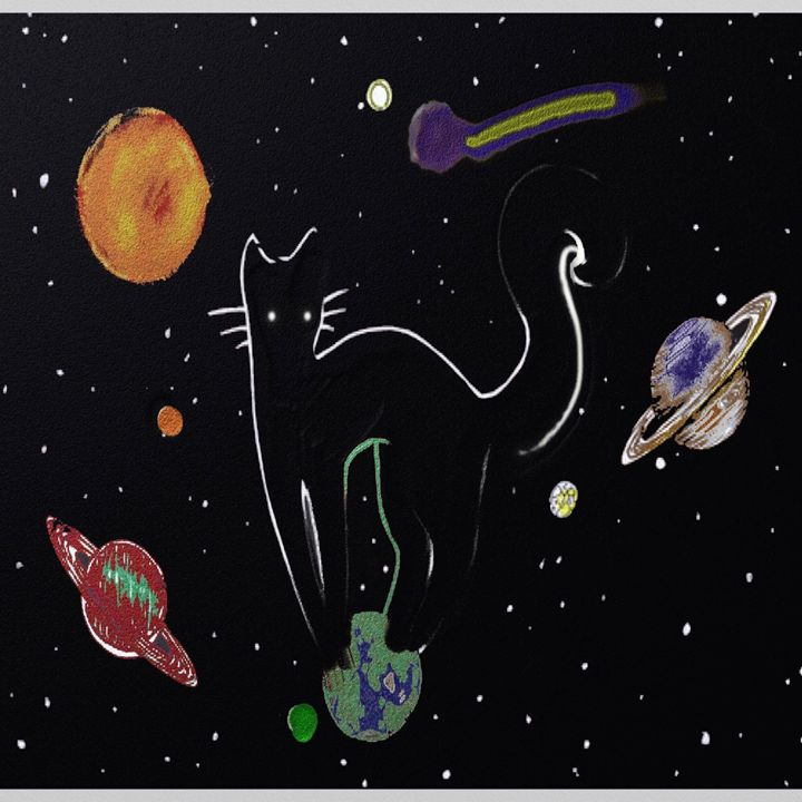 Cat in Space - ArtSoldier OutHouse