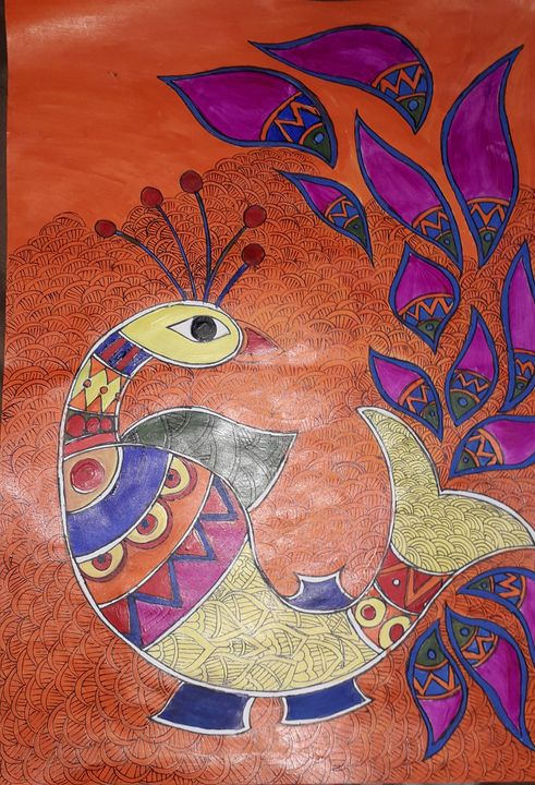Acrylic Fish - Khushboo Drawing and painting