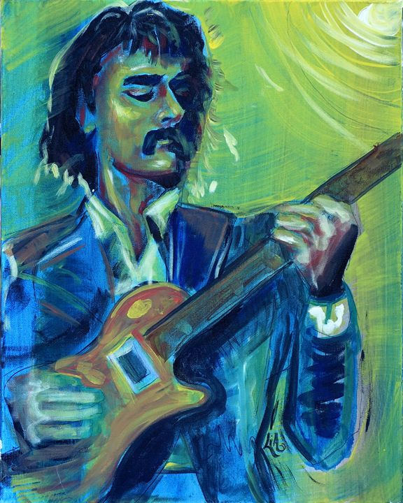 Dickey Betts - Lias Custom Art