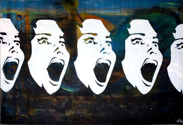 Screamin Beauty - Lias Custom Art