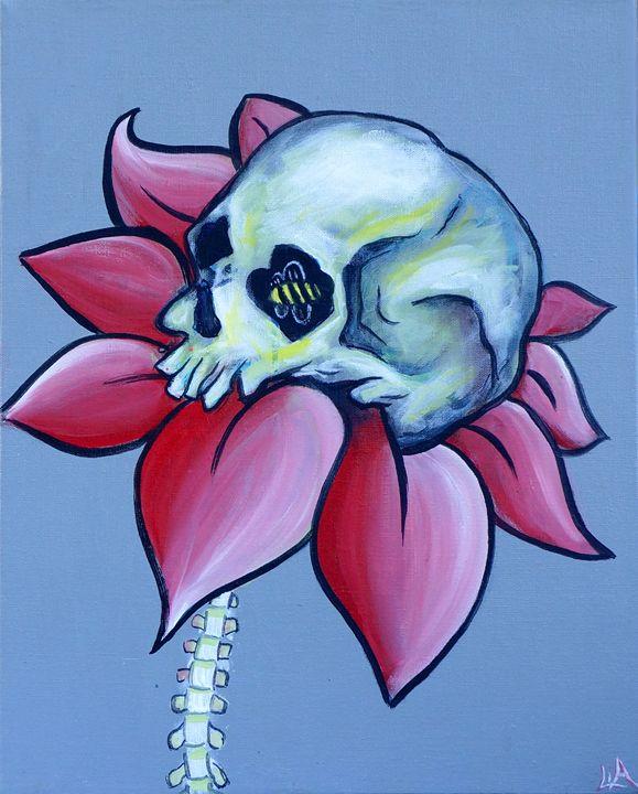 Save the Bees - Lias Custom Art