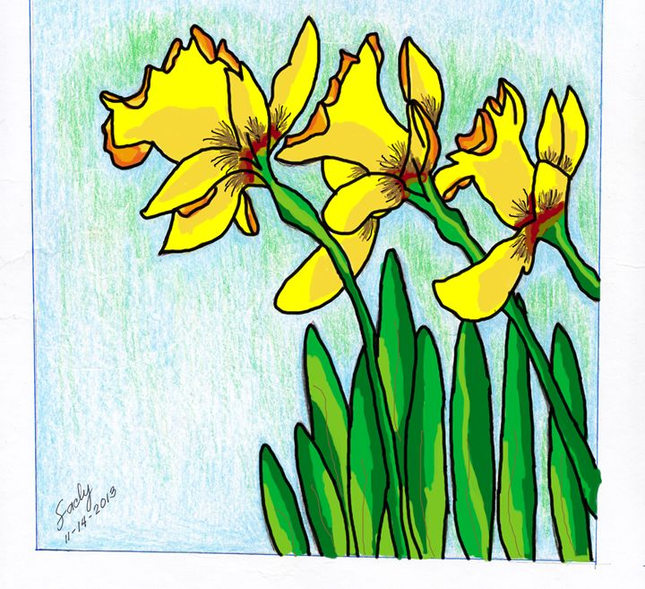 Daffodils - Digital Version - sacly