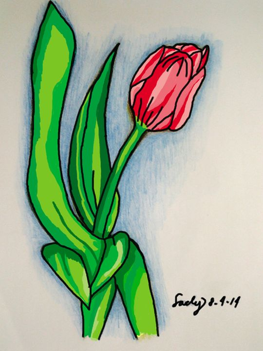 Tulips - Digital Version - sacly