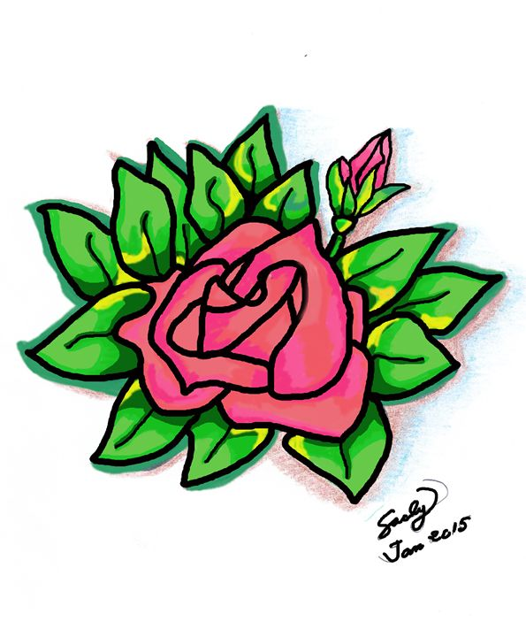Rose - Digital Version - sacly
