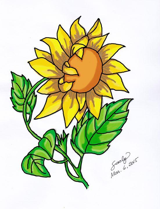 My Sunflower - sacly