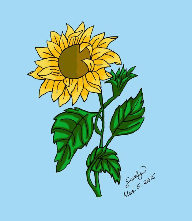 Sunflower 2 - sacly