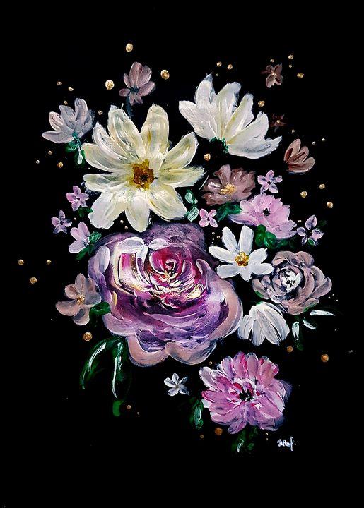 """""""The dream of flowers"""" /1/ - Naumovche Art"""