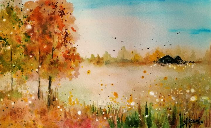 Autumn in love - Naumovche Art