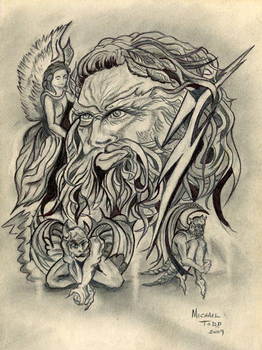Zeus - ArtistMichaelTodd