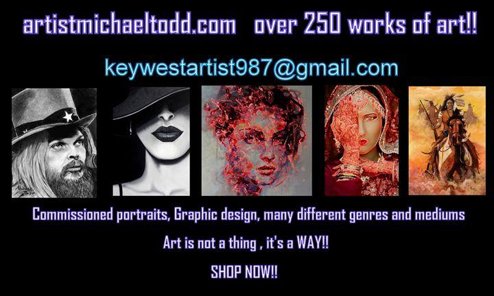 Shop - ArtistMichaelTodd