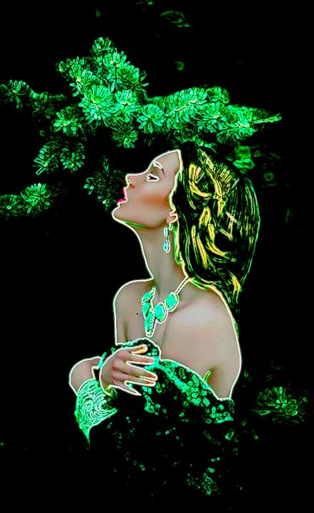 In the Garden - ArtistMichaelTodd