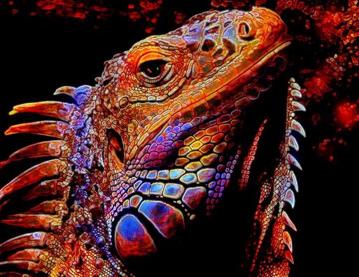 Igor the Iguana - ArtistMichaelTodd
