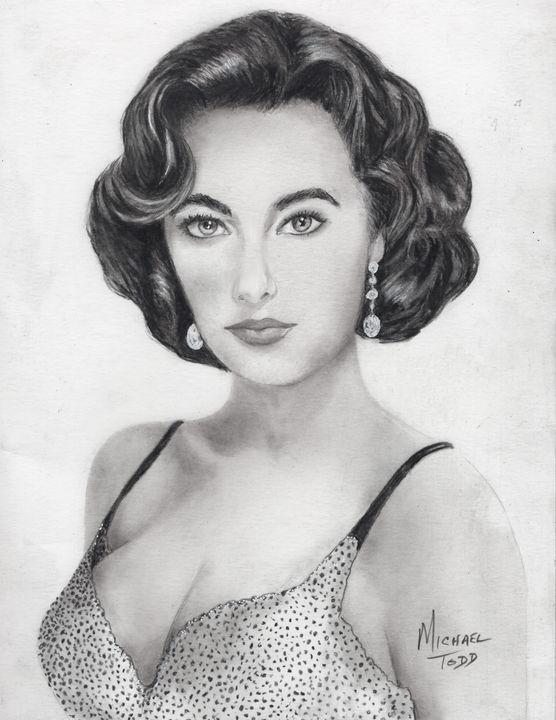 Elizabeth Taylor - ArtistMichaelTodd