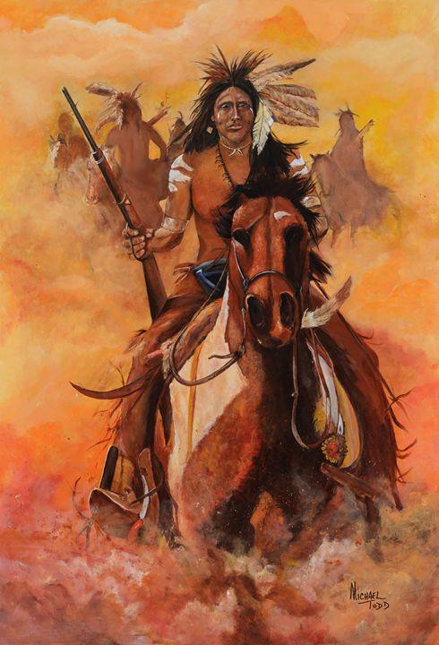 Apache War Paint - ArtistMichaelTodd