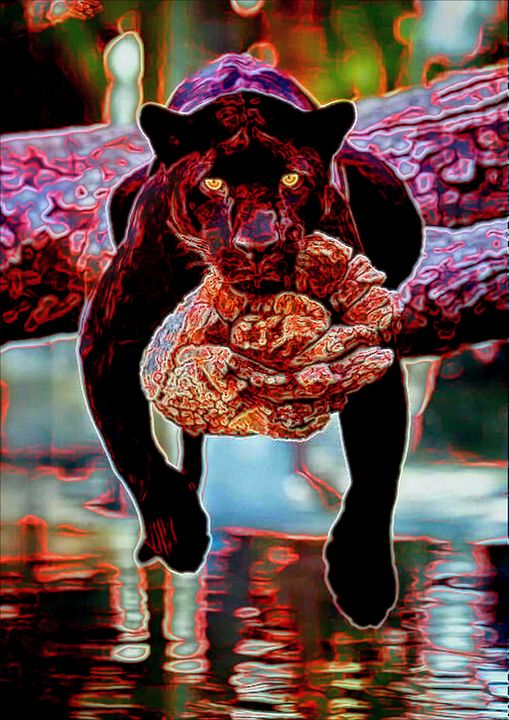 Lazy Jaguar - ArtistMichaelTodd