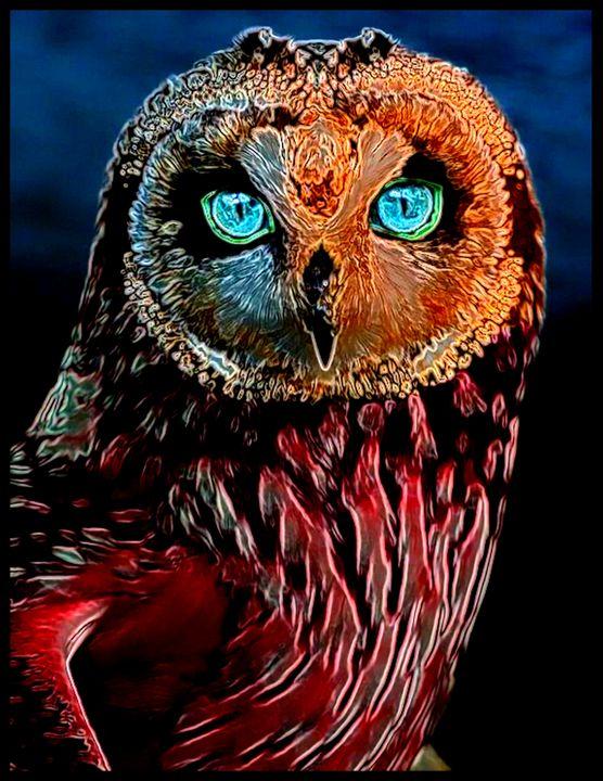 Owl be back - ArtistMichaelTodd