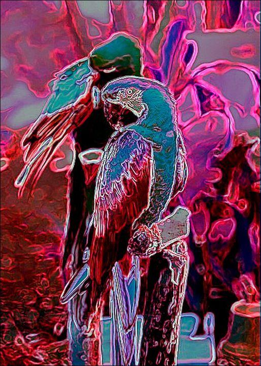 Purple in Paradise - ArtistMichaelTodd