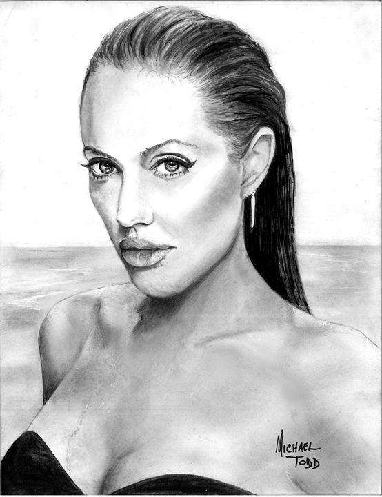 Angelina Jolie - ArtistMichaelTodd