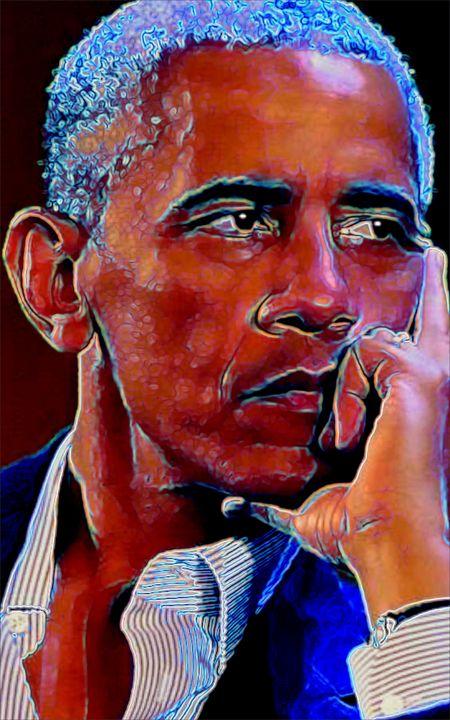 Obama - ArtistMichaelTodd