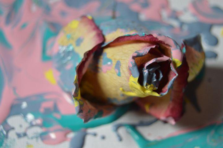 We're Panting The Roses...Pastel? - Alexis Patten