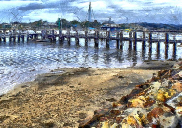 Merimbula Lake Pier - ant36au