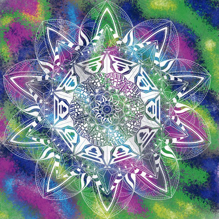 White Mandala - Dan K.
