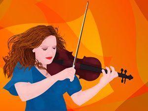 Violin girl - Dan K.