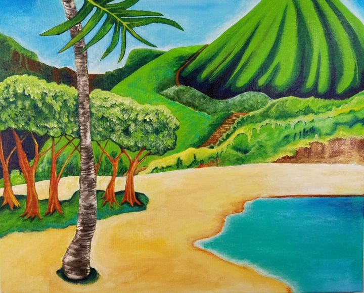 Hawaii,  Hanauma Bay - KDeniseArt