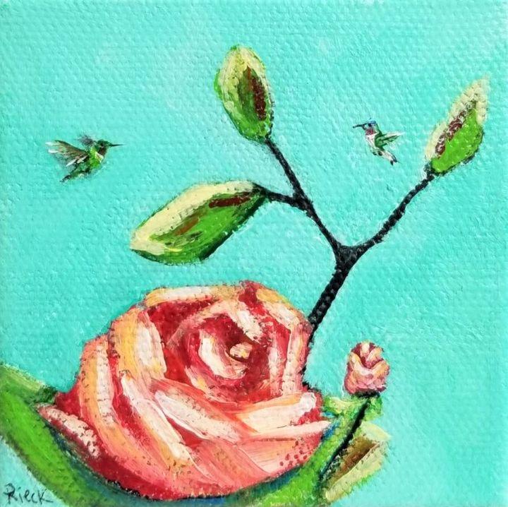 Tiny Flowers 5 - KDeniseArt