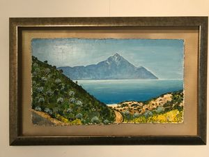 Landscape Chalkidiki - Mount Athos