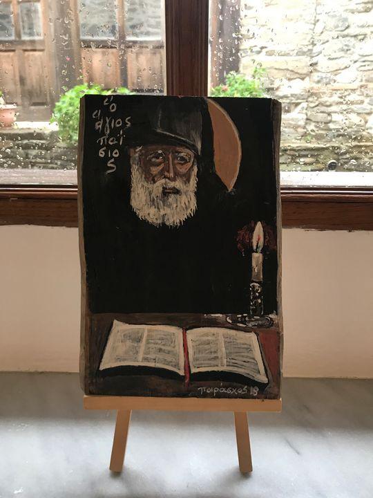 Saint Paisios - Gallery Ermeneia - Agion Oros