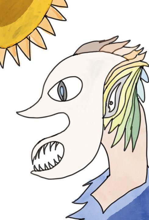 A Dude Under Sun! - Kia Arts