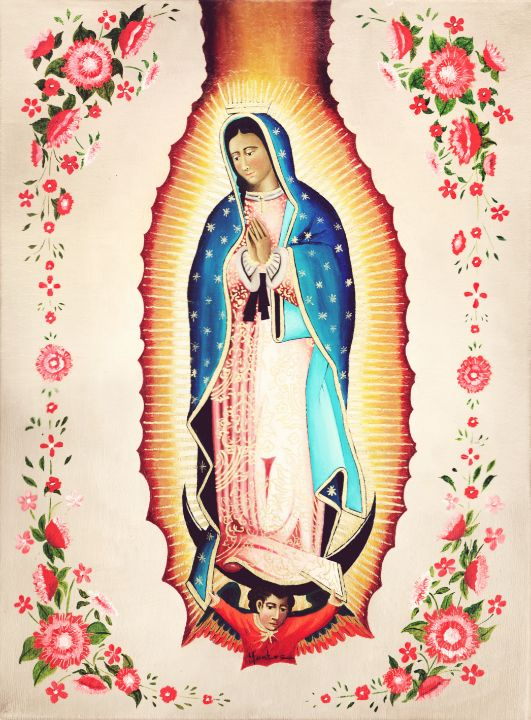 Our Lady Guadalupe - Montes Arte Mexicano