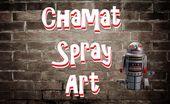 Chamat Spray Art